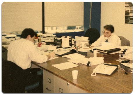 Bilingual Source - Since 1984 - Vintage Office Photo