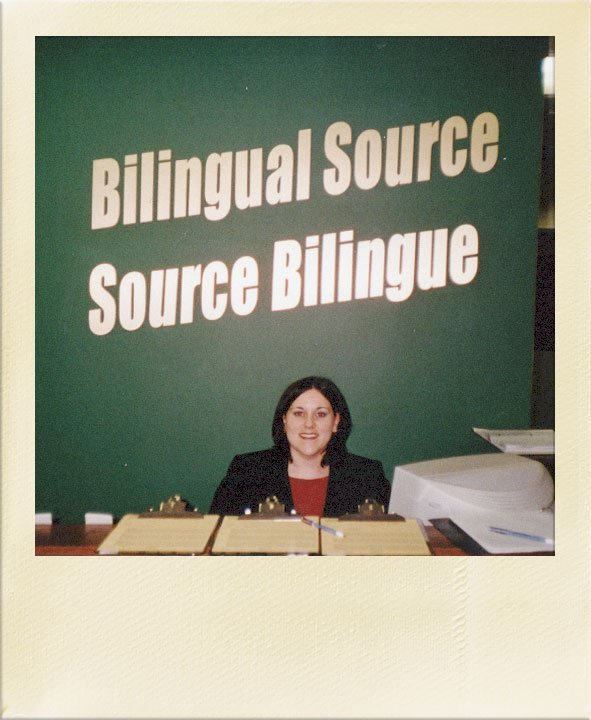 Bilingual Source 1984 Polaroid